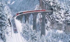«Ледниковый экспресс» — Швейцария, Санкт-Мориц