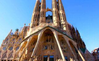 Собор Святого Семейства — Испания, Барселона