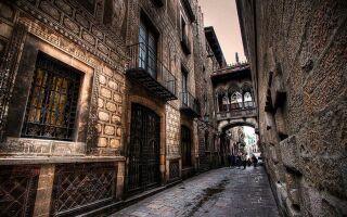 Готический квартал — Испания, Барселона
